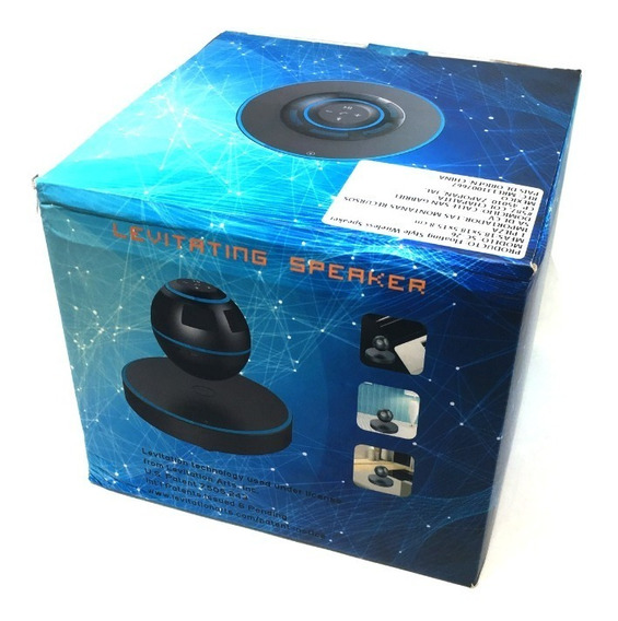 Bocina De Escritorio Bluetooth Flotante / Contesta Llamadas