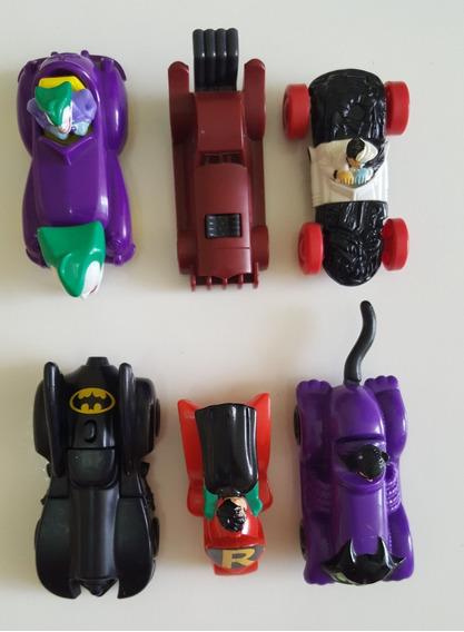 Lote Batman Mc Donalds Antigos Carros- Miniaturas 3