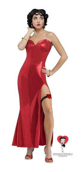 Disfraz Betty Boop Vestido Rojo Halloween