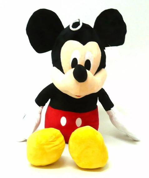 1 Boneco De Pelucia Do Mickey Musical