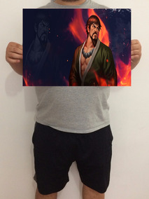 Pôster Saisyu Kusanagi (the King Of Fighters) 43x32 Cm