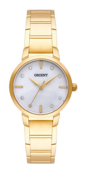 Relógio Orient Dourado Feminino 28mm Fgss0071-b1kx Eternal