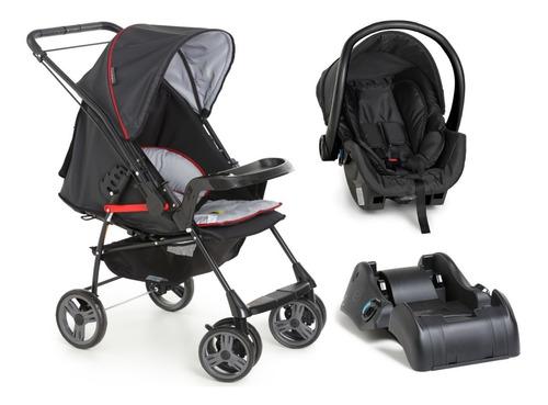 Imagem 1 de 9 de Carrinho Bebê Galzerano Milano Com Bebê Conforto E Base