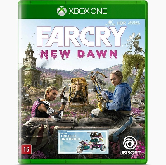 Far Cry New Dawn - Xbox One / Mídia Física / Lacrado / Pt-br