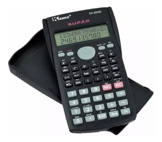 30 Calculadora Bolso Científica Kenko Kk82ms-5 Fx82 240 Fun