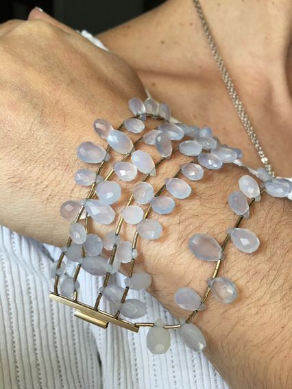 Pulseira Bracelete H Stern Pedras Naturais - Joias De Grife