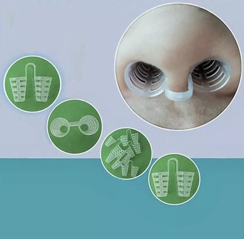 Imagem 1 de 7 de Dilatador Clip Nasal 4 Unidades Anti-ronco