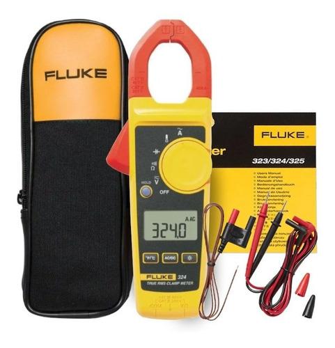 Alicate Amperímetro Digital Fluke 324 400a Ac-600v