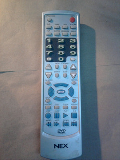 Control Remoto Para Dvd Home Teather Nex Htc - 9100 Nuevo