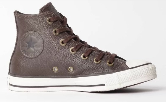 Tenis Converse All Star Cano Medio 7 Cm- Ct0449000 Chocolate