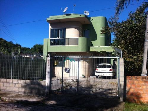 Casa Com 3 Dormitórios À Venda, 153 M² Por R$ 440.000,00 - Ingleses Do Rio Vermelho - Florianópolis/sc - Ca0256