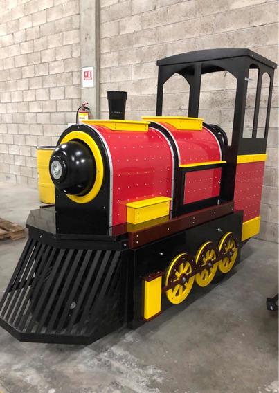 Locomotora 100% Electrica Para Centros Comerciales Trenecito