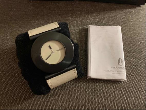 Relógio Nixon - Preto E Gelo