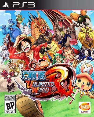 One Piece Unlimited World Red Ps3 Nuevo Y Sellado Juego