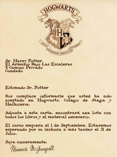 Harry Potter Carta Hogwarts Ticket Imprimible Papercraft Mercado Libre