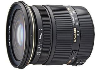 Sigma 17-50mm F / 2,8 Ex Dc Os Hsm Fld Gran Apertura De La