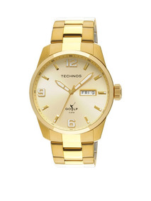 Relógio Tecnhos Masculino, Dourado, Mod 2305af/4x.