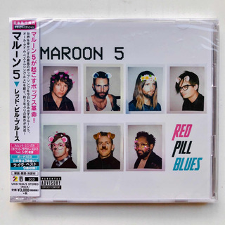 Maroon 5 Red Pill Blues Deluxe Edition Japon 2 Cds Limited