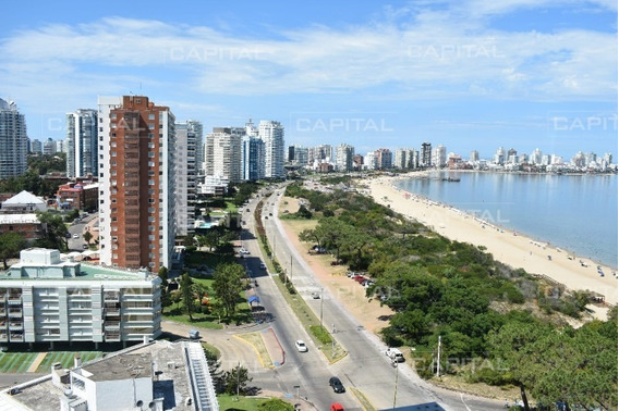 Departamento Cuatro Dormitorios Punta Del Este Oportunidad Frente Al Mar-ref:27781
