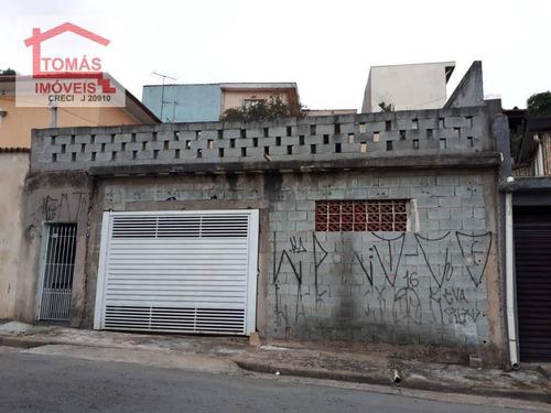 Sobrado Na Vila Bonilha, Em Terreno De Lote Inteiro - So1828