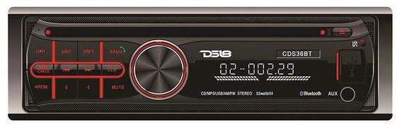Radio Para Auto Ds18 + Base + Garantia
