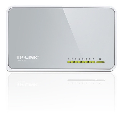 Switch Tp-link 8 Puertos Tl-sf1008d 10/100 Mbps Pc