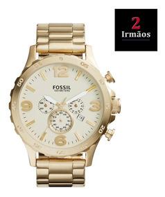 Relógio Fossil Masculino Dourado Jr1479/4xn