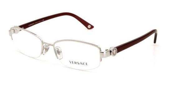 Óculos De Grau Feminino Metal Versace Prata - Tamanho Único