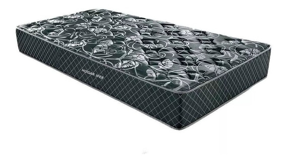 Colchon Alta Densidad Una Plaza Espuma Ortopedico Pillow Top