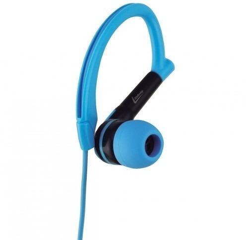 Fone De Ouvido Esportivo Com Microfone Leadership Azul 2784
