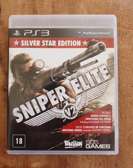 Sniper Elite V2 Silver Star Edition (mídia Física) - Ps3