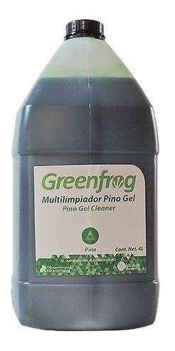 Multilimpiador Pino Gel 4 Lt Greenfrog. Vegano