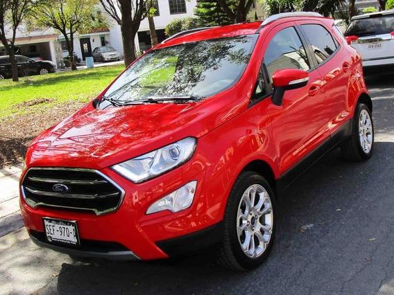 Ford Ecosport Titanium 2019 Color Rojo