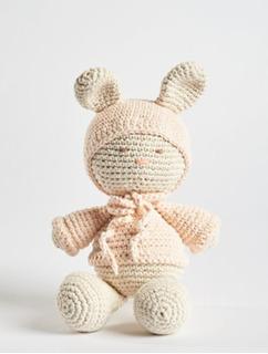 Muñeco Conejo Crochet Muñeco De Apego O Decoracion