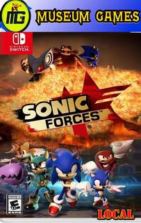 Sonic Forces Nintendo Switch Fisico Nuevo Sellado Local