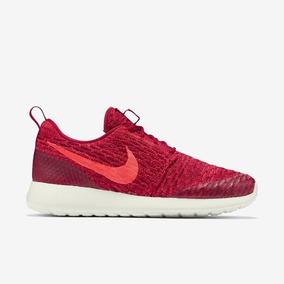Tênis Nike Roshe One Flyknit Vermelho Original