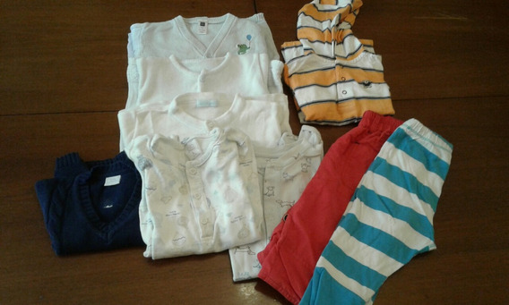 Lote Ropa Verano Nene 6-12 Meses Carters Gap Baby Cottons