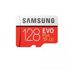 Cartao Samsung Micro Sdxc Evo Plus 128gb U3 4k 100mb/s Sdhc