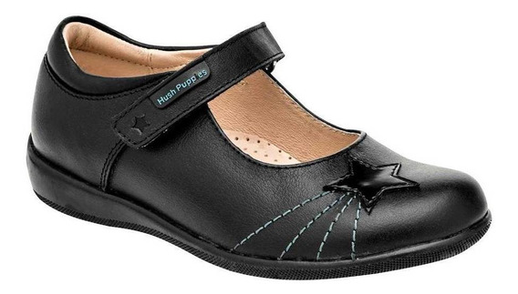 Zapato Hush Puppies Kids Hp01021 Mujer Talla 22-24 Color Neg