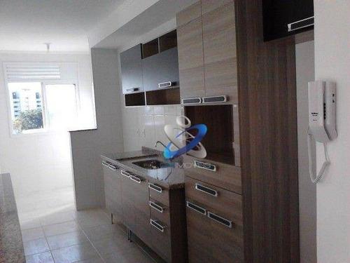 Imagem 1 de 8 de Apartamento Com 2 Dormitórios À Venda, 64 M² Por R$ 355.000,00 - Parque Industrial - São José Dos Campos/sp - Ap2774