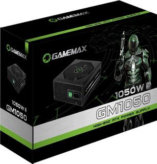 Fonte Gamemax Gm1050 Preta 80 Plus Silver 1050w Semi Modular