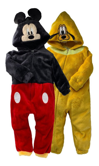 Kit 2 Mamelucos Disney Mickey Y Pluto