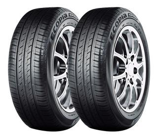 Kit X2 Bridgestone 185 60 R14 82h Ecopia Ep150 18 Cuotas