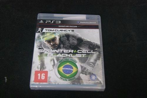 Jogo Ps3 - Splinter Cell Blacklist