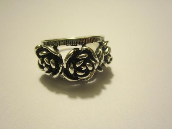 2x1 Anillo Acero Rosas Florea Suerte Talisman Amuleto