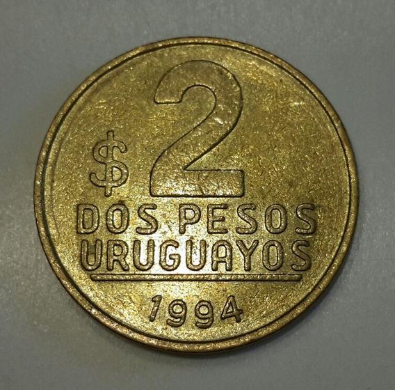 Moneda De Republica Oriental Del Uruguay (a55)