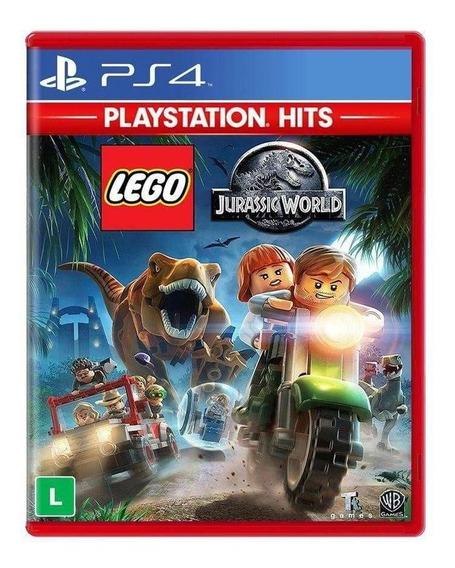 Lego Jurassic World Playstation Hits Ps4 Mídia Física Novo