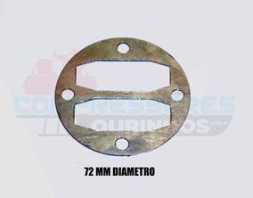 Junta De Aluminio 72 Mm Compressor Schulz Chiaperini