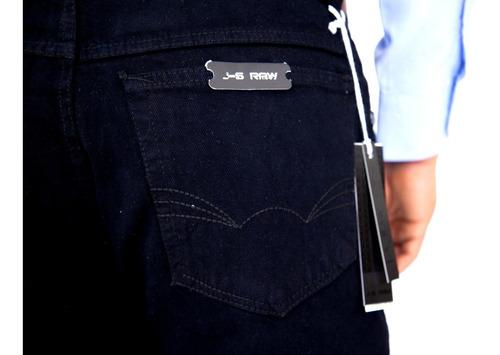 Imagen 1 de 4 de Pantalon Corte Vaquero J-s Raw Mezclilla Gruesa Varias Talla