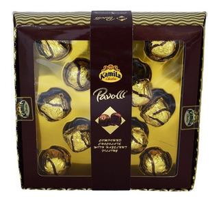 Estuche De Chocolates Pavolli 10 Bombones Avellanas 150 Gr